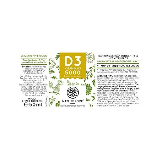 Vitamin D3 Tropfen 1000 I.E – 25 µg - 5