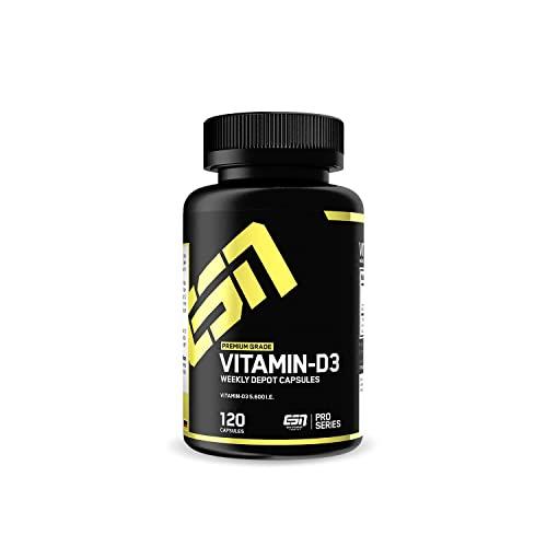 ESN Vitamin-D3, 120 Kaps.