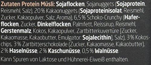 Layenberger LowCarb.one Protein Müsli Schoko-Nuss, 3er Pack (3 x 530 g) - 4