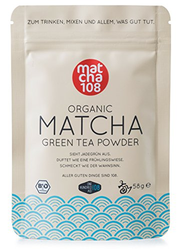 Matcha 108 - 58g Matcha Tee in Premium Qualität