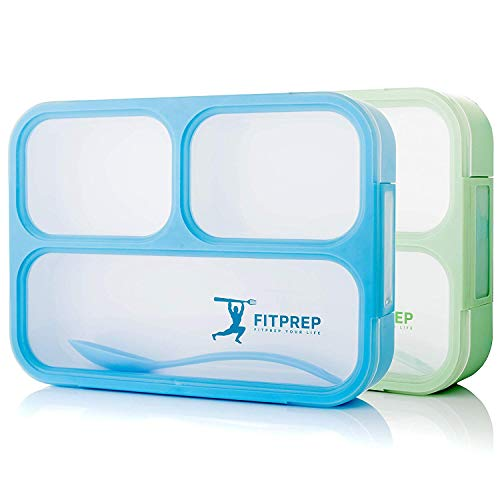 FITPREP Original Lunchbox 2er Set | Auslaufsicher
