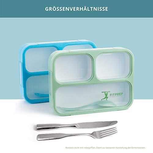 FITPREP Original Lunchbox 2er Set   Auslaufsicher - 6
