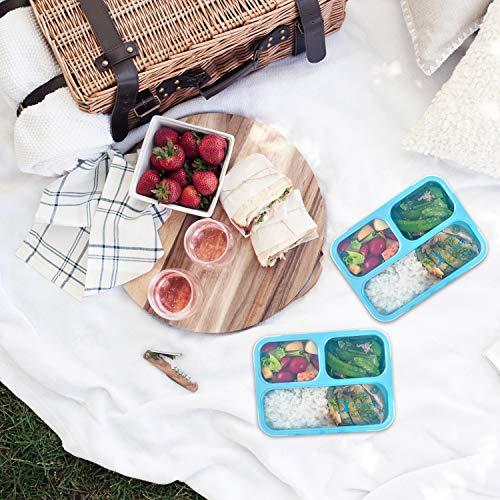 FITPREP Original Lunchbox | 3 Fächer | Auslaufsicher - 8