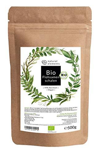 Bio Flohsamenschalen - Premium Qualität - 500g Beutel