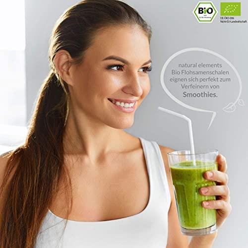 Bio Flohsamenschalen – Premium Qualität – 500g Beutel - 4