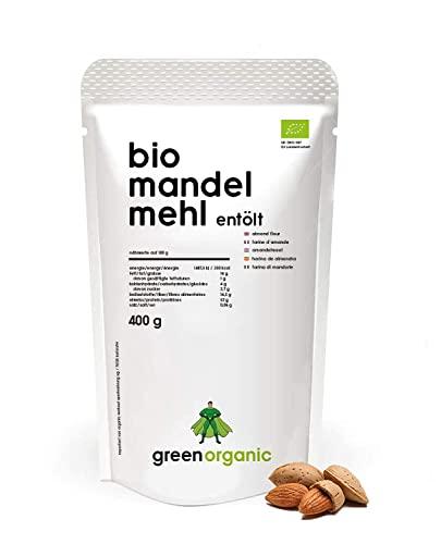 Bio Mandelmehl - Premium, Weiss - 400g