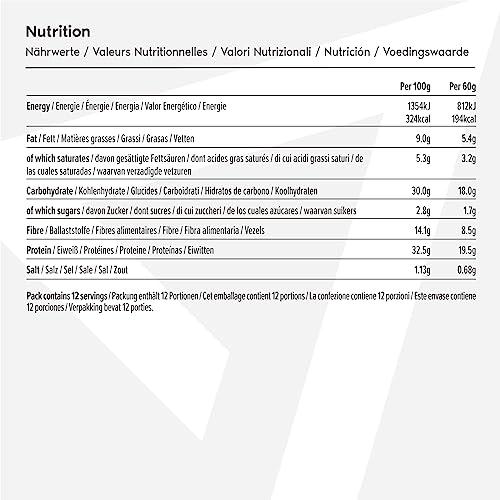 Amfit Nutrition Protein-Riegel 12er Pack (12 x 60g) - 6