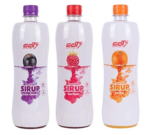 GOT7 Sugar Free Sirup Getränkesirup (6er 750ml)