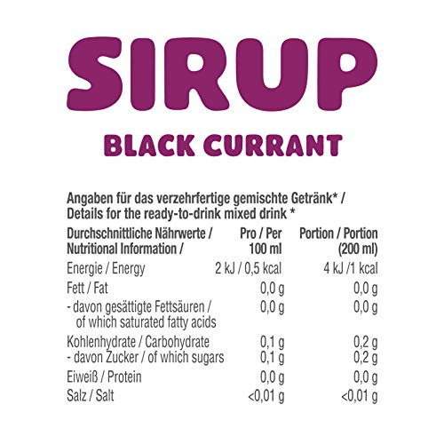 GOT7 Sugar Free Sirup Getränkesirup (6er 750ml) - 6