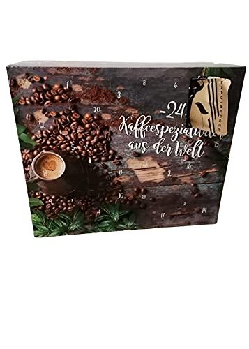 Kaffee-Adventskalender I Weihnachtskalender mit 24 Kaffees aus aller Welt