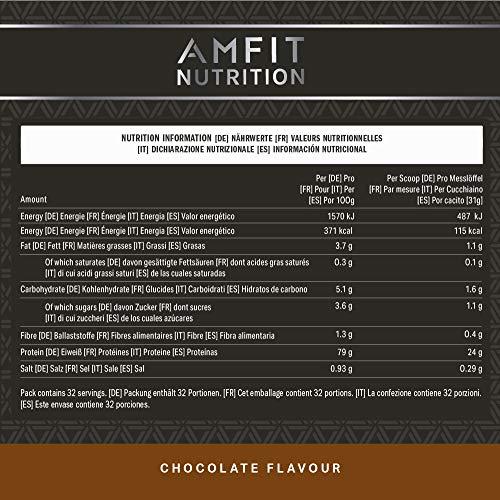Amfit Nutrition Advanced Whey Protein 992 g - 5