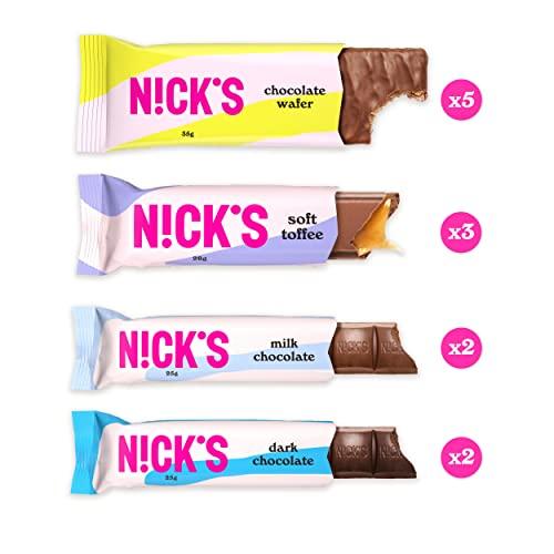NICKS Chocolate Mix, Testpaket (Schokowaffeln 6 x 40g + Schokladen 6 x 25g) - 2