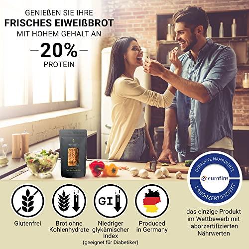 Nutringo – Seed Mix Eiweißbrot Backmischung – 3er Pack - 2