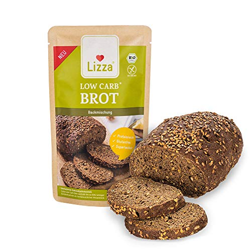 Lizza Low Carb Brot, 250g Backmischung