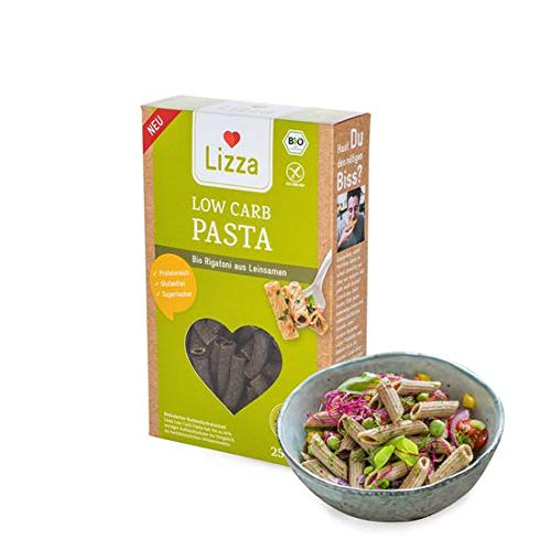 Lizza Low Carb Pasta, 1x 250g
