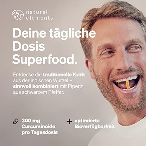 Curcuma Extrakt Hochdosiert aus 95% Extrakt – 90 Kapseln - 2