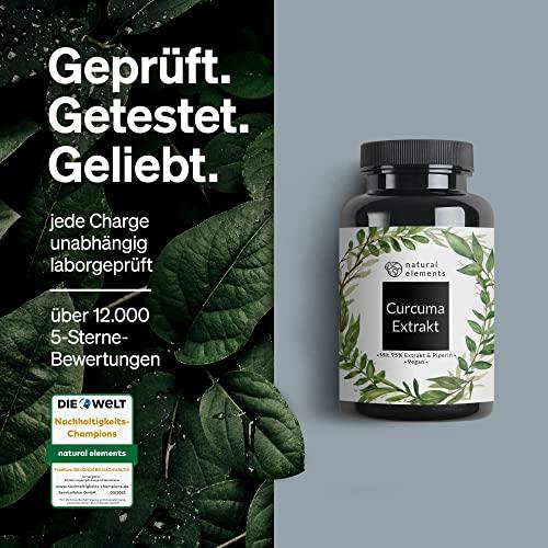 Curcuma Extrakt Hochdosiert aus 95% Extrakt – 90 Kapseln - 4