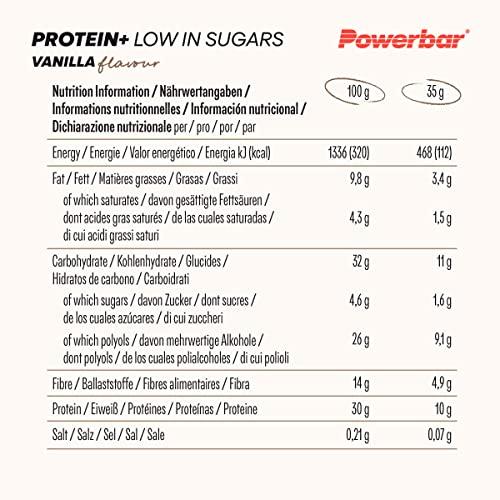 PowerBar Protein Plus Riegel (30 x 35g) - 6