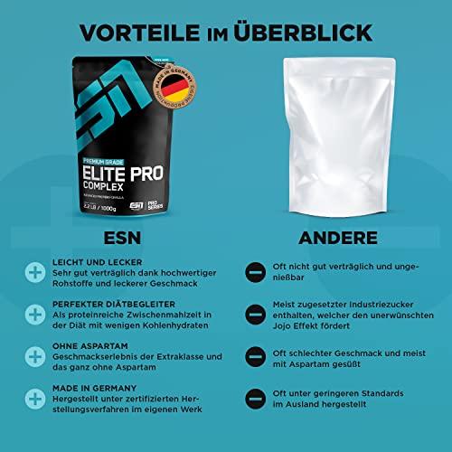 ESN Elite Pro Complex, 1000g Standbeutel - 3