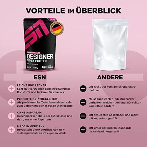 ESN Designer Whey, 1000g Standbeutel - 5