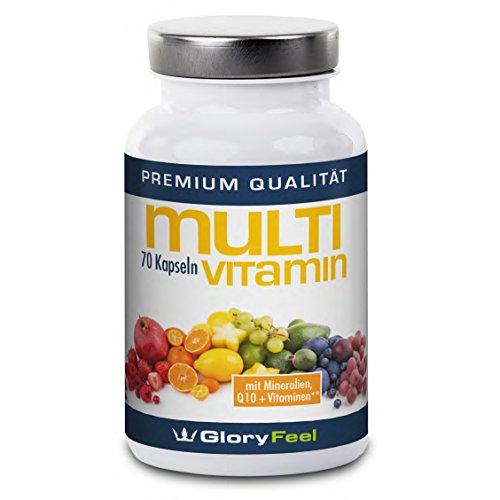 Multivitamine A-Z + Multimineral Komplex + Q10 - 70 vegane Kapseln
