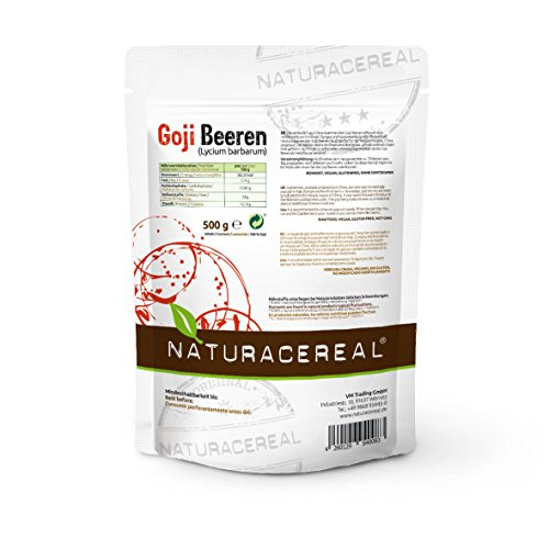 Naturacereal Goji Beeren ungeschwefelt, 1er Pack (1 x 500 g) - 2