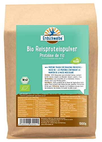Erdschwalbe BIO Reisprotein 1kg-Beutel