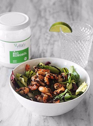 Vitafy essentials Bio Kokosöl (500ml) - 3