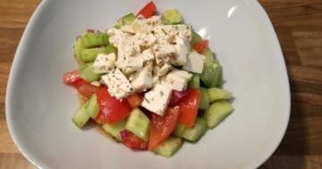 Bauernsalat-griechische Art