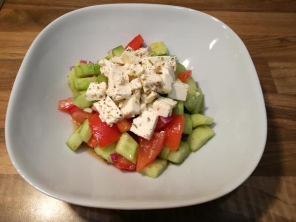 Rezept: Bauernsalat - griechische Art