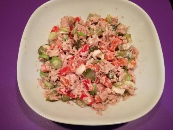 Rezept: Thunfischsalat mit Paprika