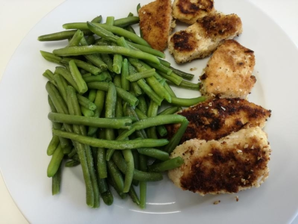 Rezept: Low Carb Chicken Nuggets