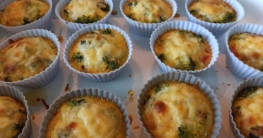 Lowcarb-Ei-Gemuese-Muffin